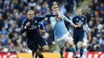 Le immagini di Manchester City-Real Madrid