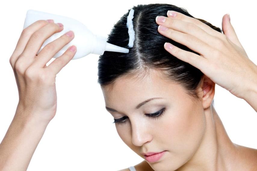 SOS ricrescita  come coprire i capelli bianchi con lo spray colorato ee2e337e87e0