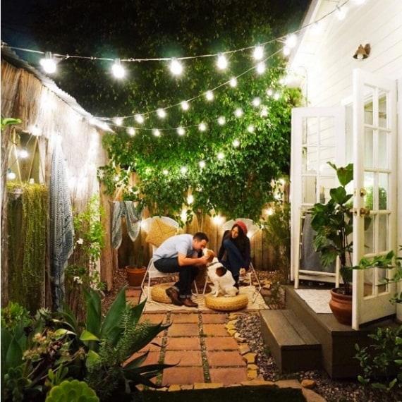 Un romantico giardino