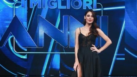 """Anna Tatangelo sexy nella prima puntata di """"I migliori anni"""""""