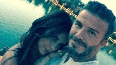 David Beckham padre e marito amorevole