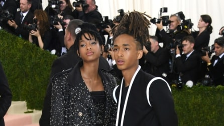 Jaden e Willow Smith al Met Gala 2016