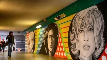 Dalla Cardinale all Magnani: la street art trasforma le stazioni di Roma