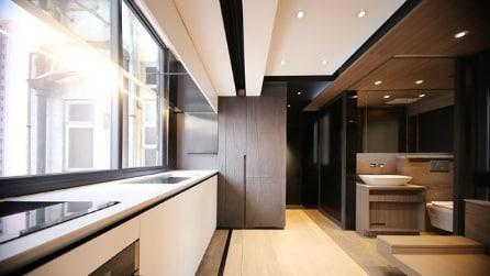 Hong Kong: tutta una casa in 28 metri quadrati