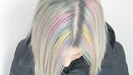 Radici arcobaleno, il trend hair più colorato del 2016
