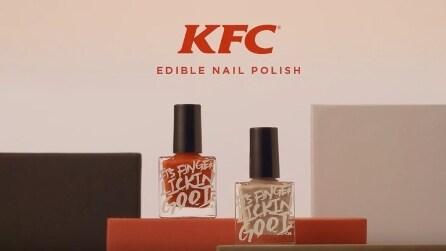 Lo smalto al gusto di pollo fritto di KFC