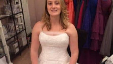 L'abito da sposa si brucia a pochi giorni dal matrimonio, quello che accade dopo è davvero speciale