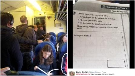 """""""Quante persone ci sono sul treno?"""": il quiz per bambini che gli adulti non riescono a risolvere"""