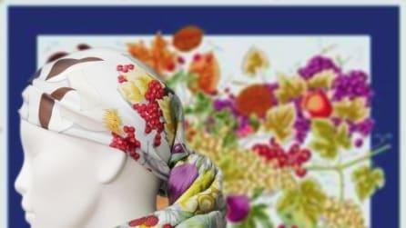 Vita, i foulard Mantero per sostenere le donne malate