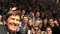 Gianni Morandi spiega i social alla Bocconi di Milano