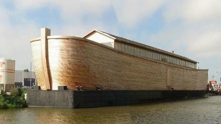 A bordo dell'Arca di Noè a grandezza naturale: direzione Rio de Janeiro 2016