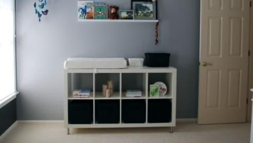 Come trasformare un classico scaffale ikea in modo geniale for Ikea a modo tuo