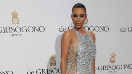 Kim Kardashian a Cannes con la mamma