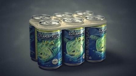 La confezione di birra commestibile, l'invenzione che rispetta l'ambiente