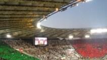 Le coreografie di Milan-Juve, finale di Coppa Italia