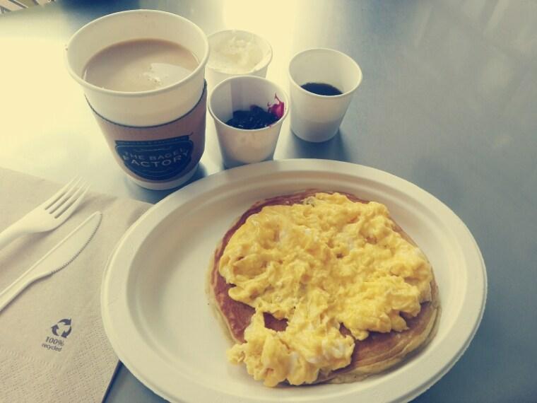 Ho dovuto dire Sì ad una colazione che avrei volentieri evitato