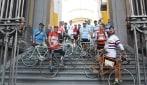 La Cazzimbocchia, una corsa d'epoca al Napoli Bike Festival 2016