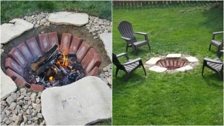 Braciere da esterno: ecco come riscaldare il giardino in modo originale