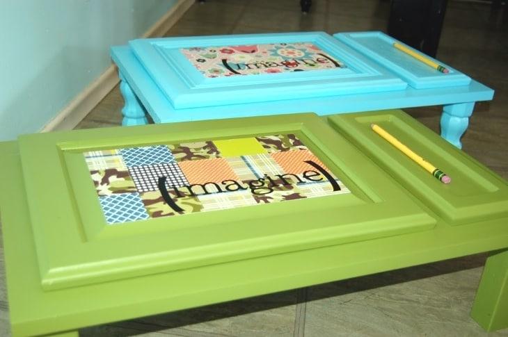 Creare piccole scrivanie per i vostri bambini