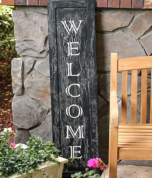 E infine il modo più creativo per dare il benvenuto ai tuoi ospiti.