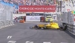 Monaco, Palmer subito protagonista: testacoda alle Piscine