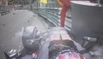 F1 Monaco, Max Verstappen a muro: qualifiche interrotte!