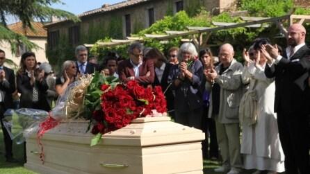 L'ultimo saluto a Giorgio Albertazzi
