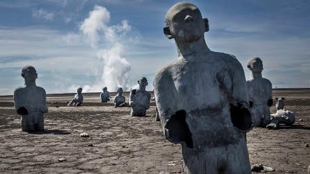 Ecco i villaggi indonesiani riemersi dal fango