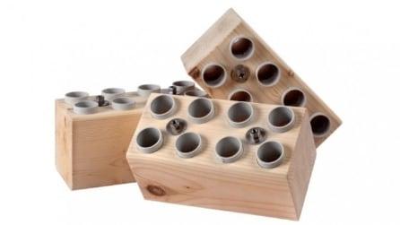 Costruire una casa vera con dei lego giganti: l'idea è geniale