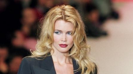 Claudia Schiffer prima e dopo, com'è cambiata la top model