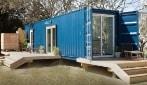 Costruisce una casa in un container ma gli interni sono di lusso