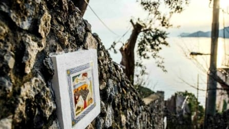 Praiano diventa un museo d'arte a cielo aperto