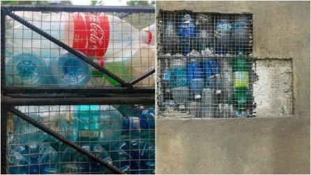 Ricicla le bottiglie di plastica in modo rivoluzionario: ecco quello che ha realizzato