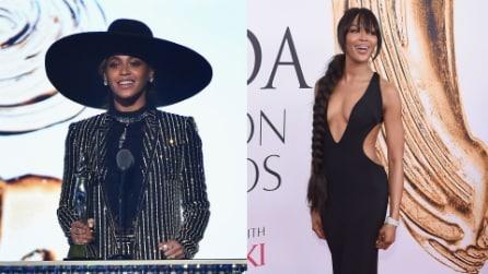 Beyoncé con mega cappello, Naomi come Raperonzolo: i look dei CFDA Awards 2016