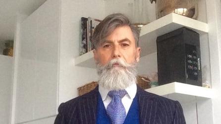Philippe Dumas, il modello di 60 anni