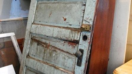 Sembrerebbe solo una vecchia porta: la sua trasformazione è entusiasmante