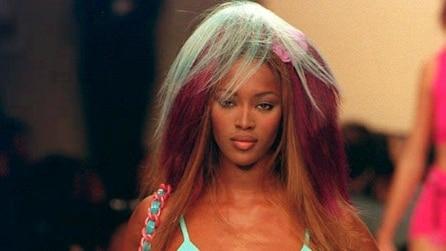 Naomi Campbell prima e dopo: com'è cambiata la top model