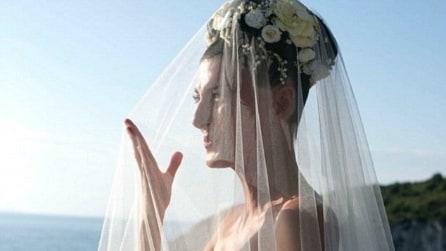 Il matrimonio di Giovanna Battaglia a Capri