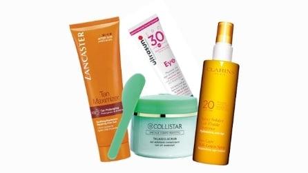 10 prodotti per preparare la pelle all'abbronzatura