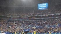 Euro 2016, Ucraina-Irlanda del Nord: le foto della grandinata