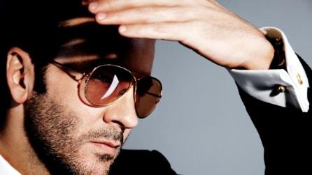 La nuova collezione di occhiali di Tom Ford