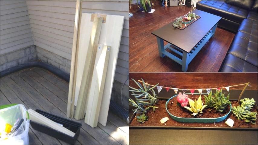 Come Creare Un Tavolino Da Salotto.Come Costruire Un Originale Tavolino Da Salotto Un Progetto