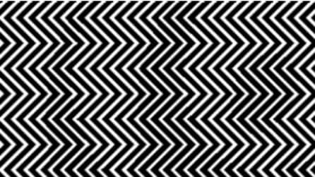 Dietro queste strisce si nasconde una figura: riuscite a vederla?