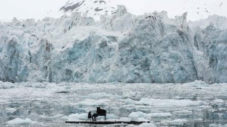 Le foto di Ludovico Einaudi che suona nell'Artico