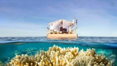 Benvenuti nella casa galleggiante più bella del mondo