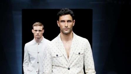 Giorgio Armani collezione Uomo Primavera/Estate 2017