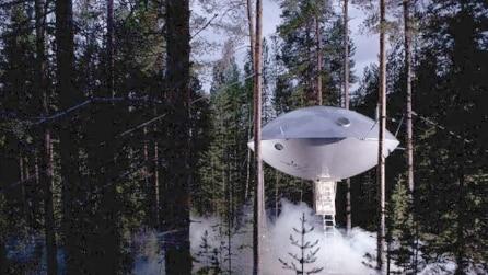 I 5 hotel a forma di UFO per vacanze su un altro pianeta
