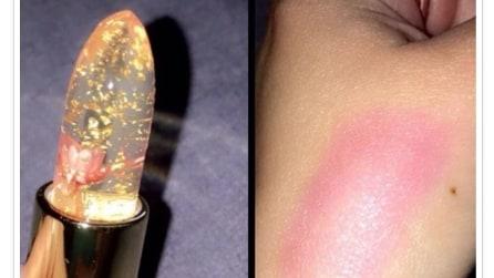 Arriva il rossetto che cambia colore in base alla temperatura del corpo
