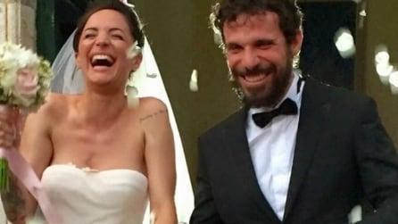 Le foto delle nozze di Andrea Delogu e Francesco Montanari