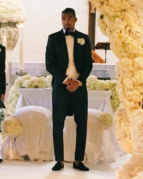 L'attesa dello sposo all'altare